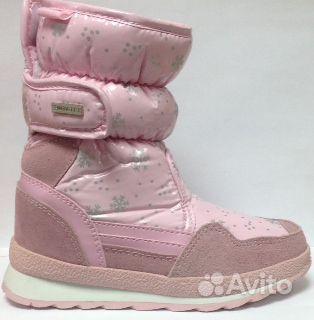 Дутиши зимние для девочек KEDDO. Производитель детской обуви: KEDDO, Англи