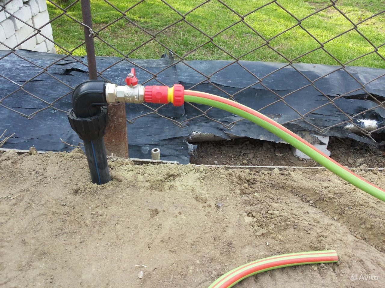 Водопровод из труб пвх на даче своими руками