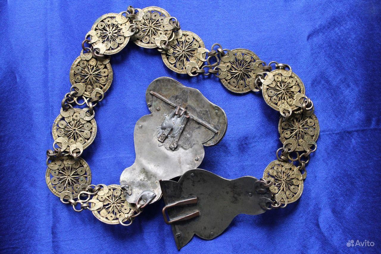Серебряные пояса женские
