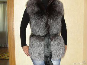 Чернобурка Жилет
