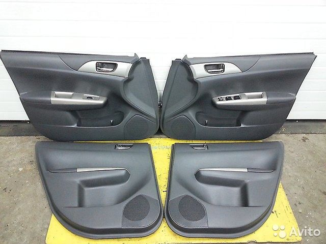 89625003353 Обшивка дверей комплект Subaru Impreza
