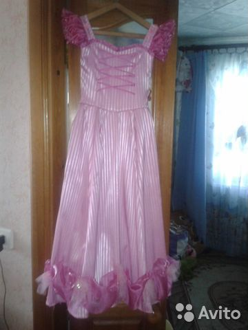 выкройка праздничного пышного платья