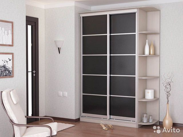 Шкафы с открытыми полками фото