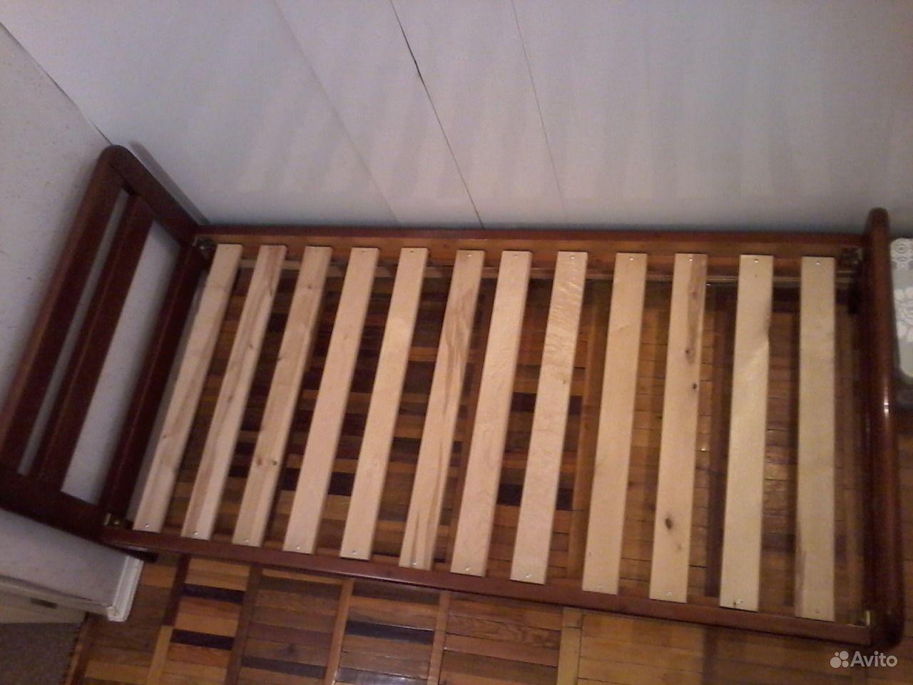 Купить односпальные кровати - Мебель из массива сосны
