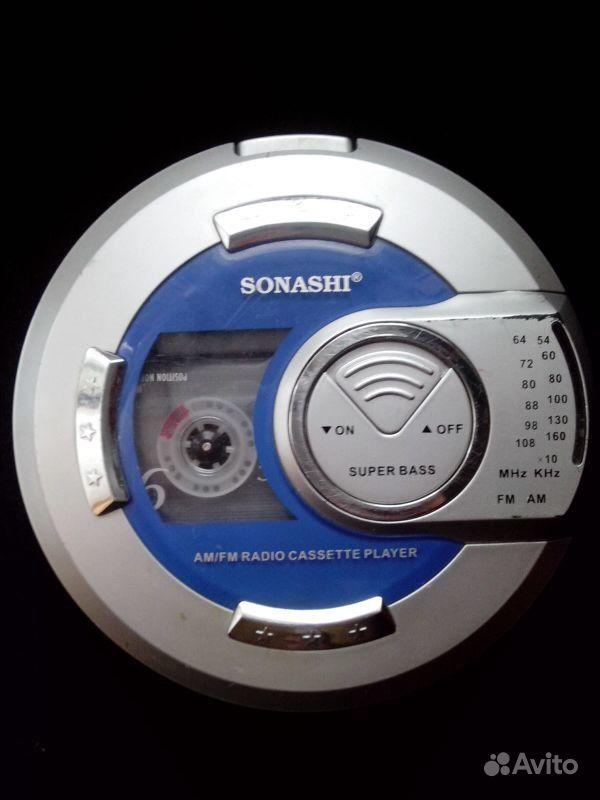 Sonashi аудиоплеер с радио