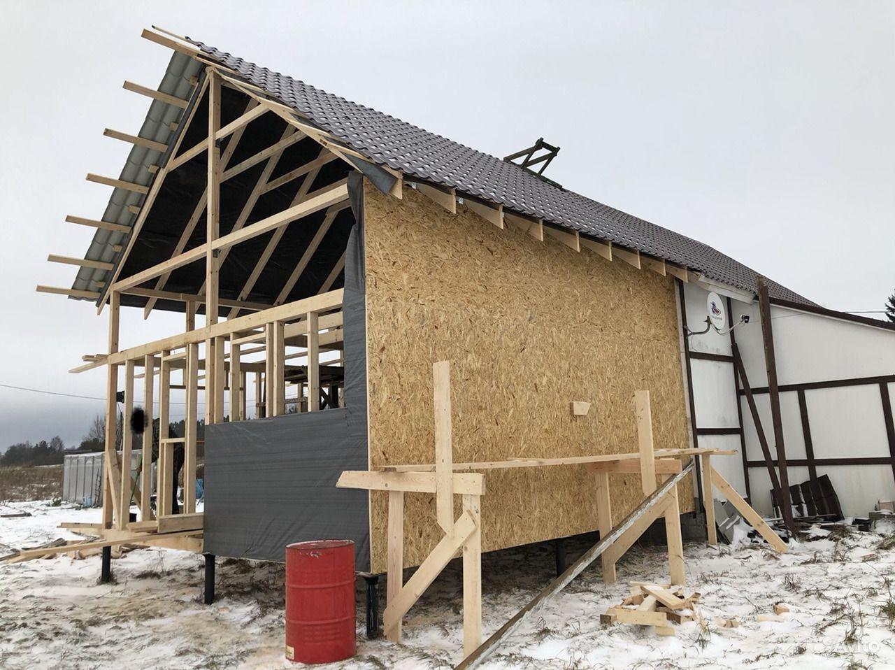 Строительство домов,бань,хоз.блоков,канализация, д купить на Вуёк.ру - фотография № 9