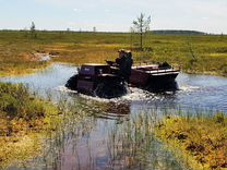 Вездеход - болотоход Егерь-L-S