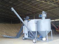 Самоходный сепаратор алмаз для подготовки семян