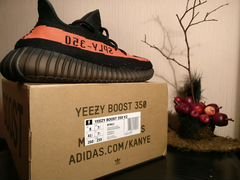 Adidas Yeezy Boost v2 Core Black Red