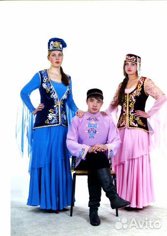 Татарский национальный костюм купить в Республике Башкортостан на ... 97957921aaba9