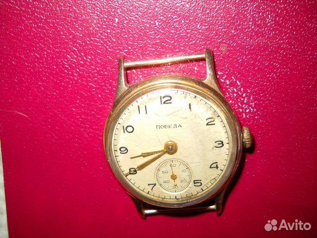 2e2f20226cb52 Часы мужские золотые победа СССР купить в Санкт-Петербурге на Avito ...