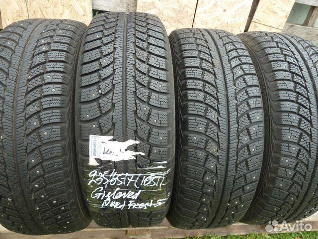 Зимние шипованные новые шины 235/65/17 в спб окей спб купить шины