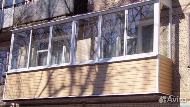 Остекление балконов и лоджий, объявление в москве.