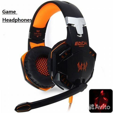 наушники Kotion Each G2000 Pro Gaming Headset оран купить в москве