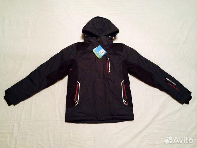 82e7ef8e3247 Непромокаемая теплая зимняя куртка Columbia серый купить в Москве на ...