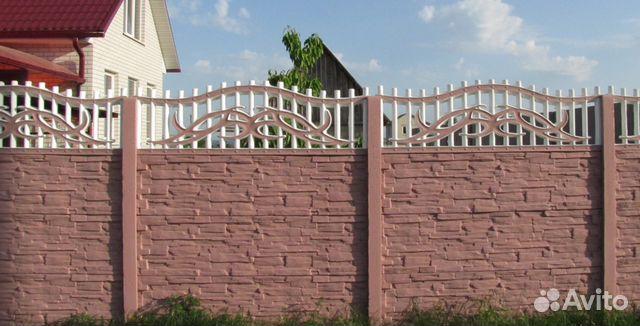 забор из бетона купить в туле