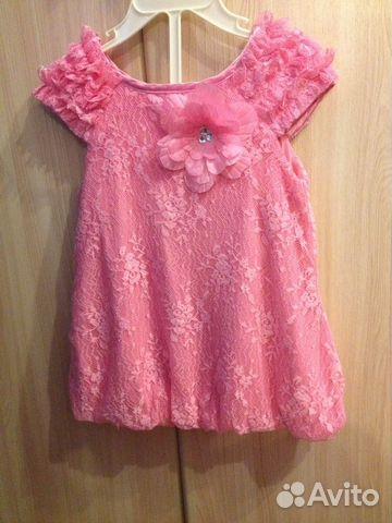 Красивое платьице на девочку 12-18 месяцев  e8efa66fc444d