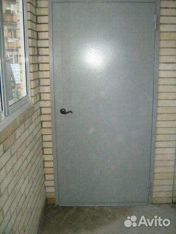 двери металлические входные технические утеплённые