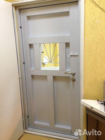 купить стальную дверь с окном