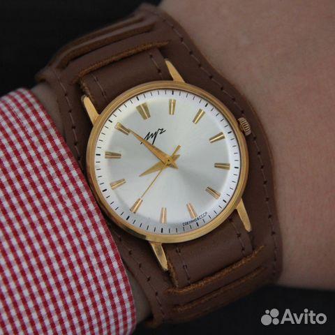 Часы позолоченные механические луч продам fashion swiss стоимость часов