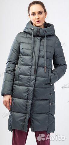 Новое модное пуховое пальто Clasna 126CW(453) р.46   Festima.Ru ... 0452ff650e0