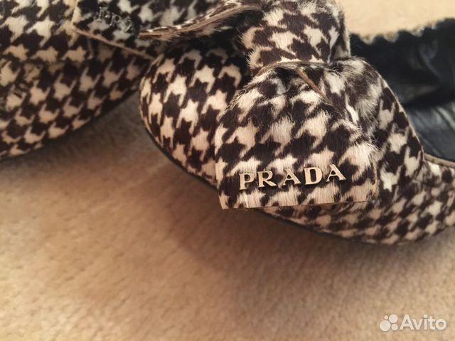 Балетки Prada   Festima.Ru - Мониторинг объявлений fc30074ab28