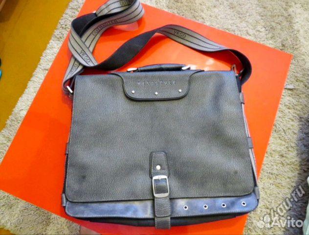 Внутренние карманы мужской сумки