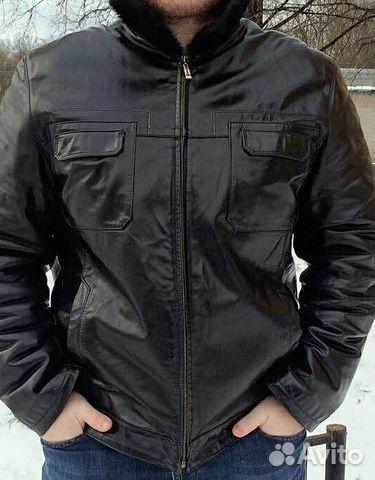 988051e712db6 Зимняя мужская кожаная куртка-дубленка | Festima.Ru - Мониторинг ...
