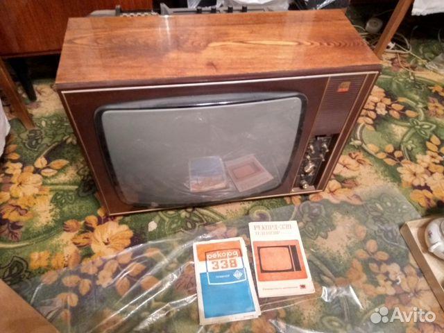 советский черно-бекый телевизор рекорд купить на авито могут быть устаревшими