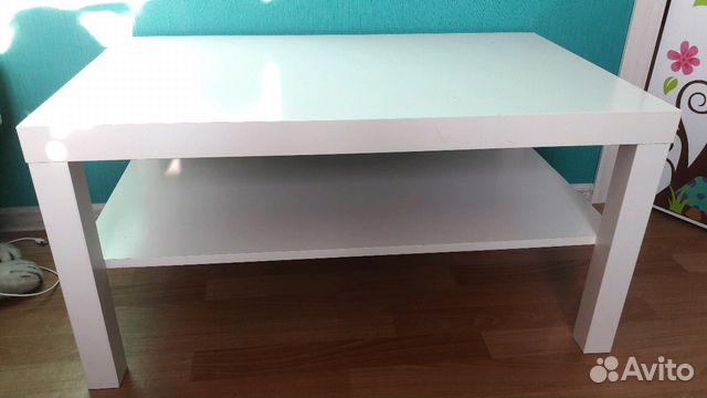 белый журнальный стол Ikea Festimaru мониторинг объявлений