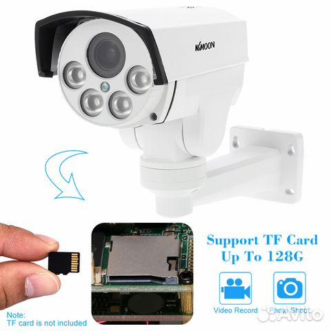 Беспроводная управляемая IP камера 1080P 89044497130 купить 2
