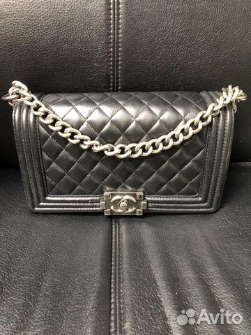 c10f6bbecaea Сумка Chanel, черная (женская)   Festima.Ru - Мониторинг объявлений