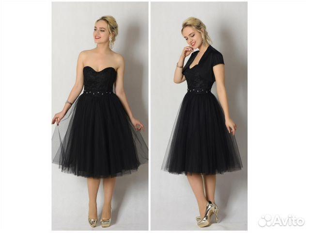 c8f9a0b7890 Коктейльное черное платье с болеро