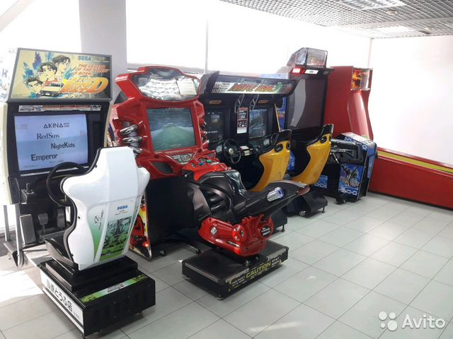 игровые автоматы аттракционы