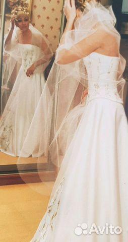 3dedae64a2a Платье парча новое