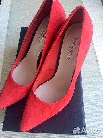 1ed50f62d Красивые туфли TJ collection замша (Италия). 37 р— фотография №1