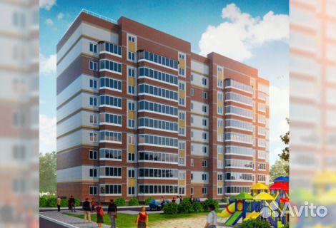 Продается двухкомнатная квартира за 3 515 000 рублей. ул Пролетарская.