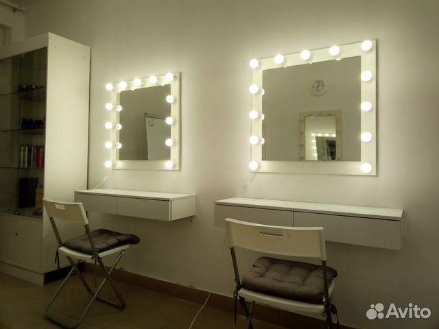 Зеркало с консольными ящиками 89524478822 купить 5