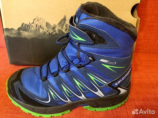 Salomon ботинки детские зимние  8d7921e847605