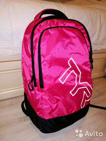 новые рюкзаки 5шт Tyr цвет розовый купить в москве на Avito