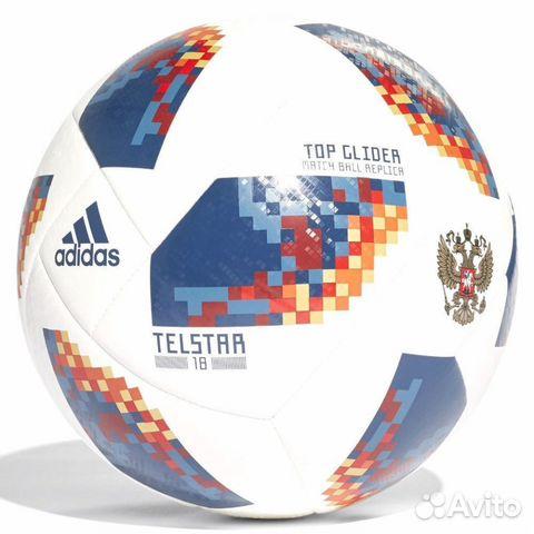 Мяч Adidas Russia Telstar 18  e51b356b46208