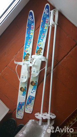 Лыжи до 5 лет 89803050737 купить 1