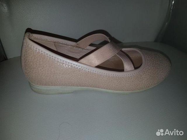 Туфли на девочку нат. кожа ecco 89195669190 купить 3