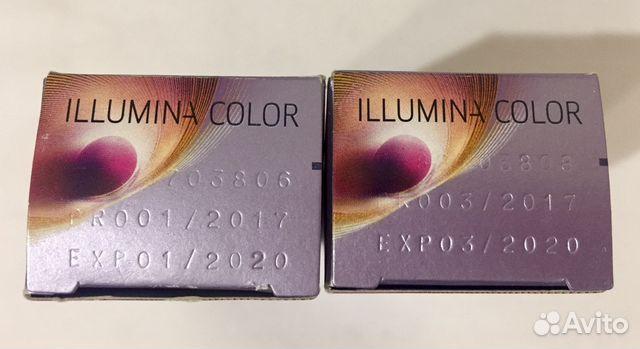 Краска wella illumina color купить в Санкт Петербурге на avito