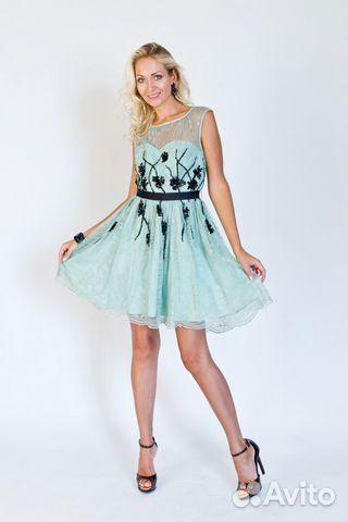 da0e53e9449 Новое брендовое платье расшитое бисером купить в Новосибирской ...
