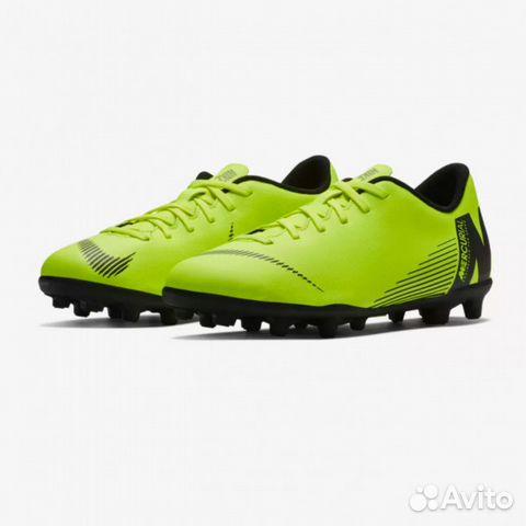 9d4ec477 Бутсы Nike vapor XII club FG/MG купить в Пермском крае на Avito ...