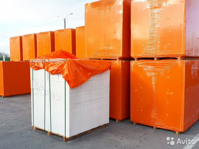Газосиликатные блоки Д-500 200*300*600 вксм