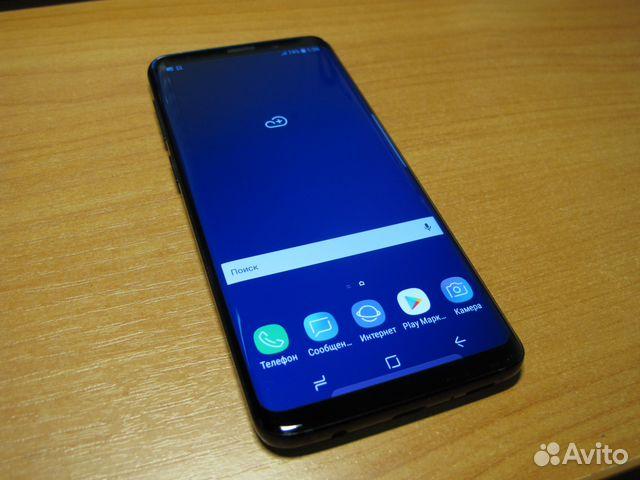 867d6db6b65 SAMSUNG Galaxy S9 64Gb Черный купить в Москве на Avito — Объявления ...