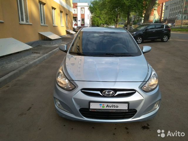 Купить Hyundai Solaris пробег 131 000.00 км 2011 год выпуска