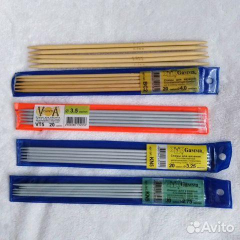 спицы для вязания купить в санкт петербурге на Avito объявления на